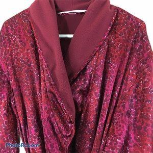 Victoria's Secret Kimono Style Fleece Lined Robe